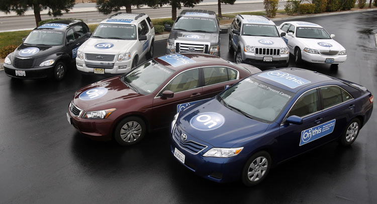 Non-GM Vehicles used as testing fleet by OnStar