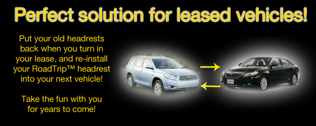 great for leased vehicles